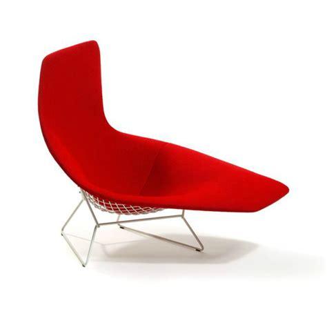 chaises knoll bertoia asymmetric chaise knoll