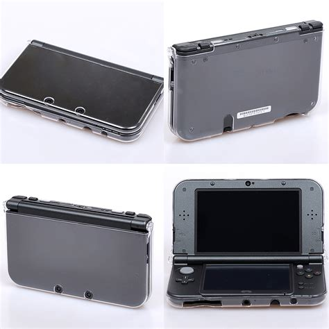 Shell Gift Card Paypal - transparent clear crystal hard shell skin case cover for new nintendo 3ds xl ll ebay