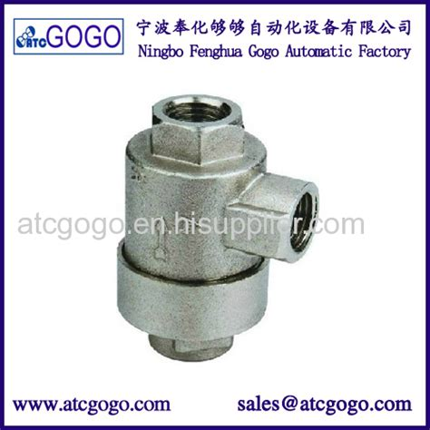 Pressure Speed Valve Flow 1 8 Chelic Asc 150 01 air compressor exhaust valve pneumatic vent aluminum