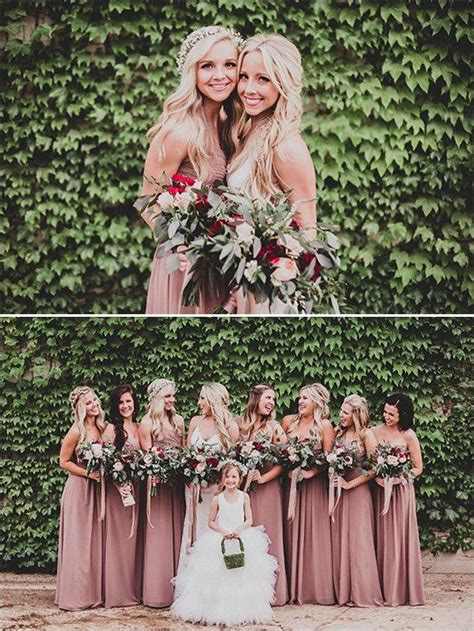 bridesmaid colors 25 best ideas about mauve bridesmaid dresses on
