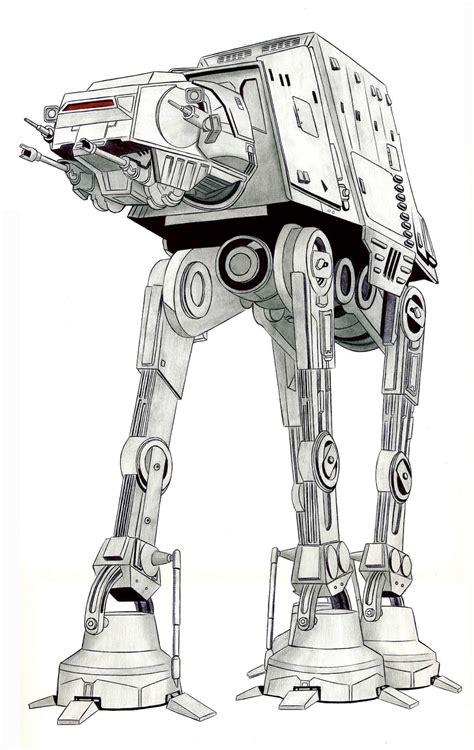 imperial walker coloring pages hiperb 243 lico at at