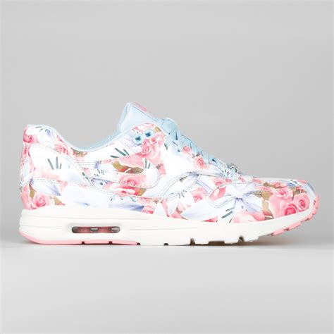 Pink Pattern Air Max | newest nike air max 1 ultra flower pattern paris women s
