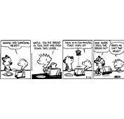 Calvin And Hobbes Comic Strip  TV Tropes