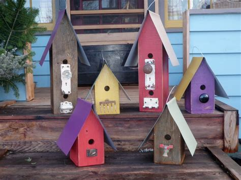 ideas bird houses from recycled materials awesome house