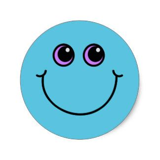Smiley Aufkleber Rot Gelb Grün by Blau Smiley Aufkleber Zazzle De