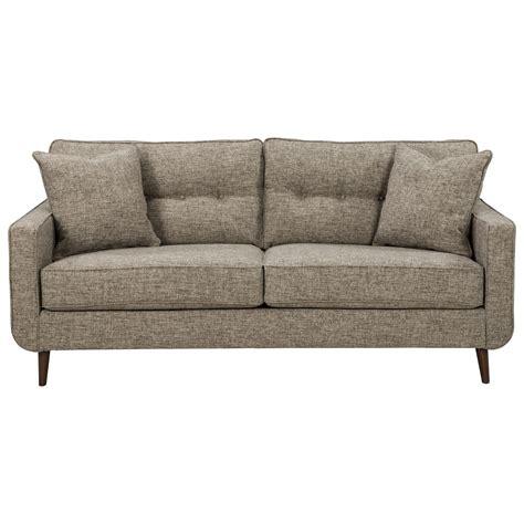 benchcraft sofa benchcraft dahra 6280238 mid century modern sofa john v