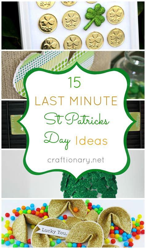 patricks day crafts craftionary