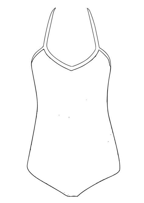 dessin de maillot de bain free coloring pages of bathing suit