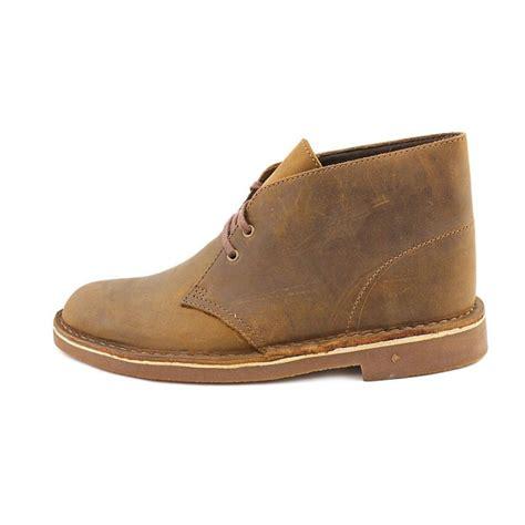 clarks chukka boots clarks bushacre 2 leather chukka boot boots
