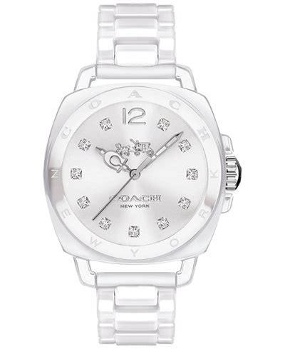 Gucci Ceramik Roundwhite T1310 3 coach s boyfriend white ceramic bracelet 34mm 14502503 watches jewelry watches