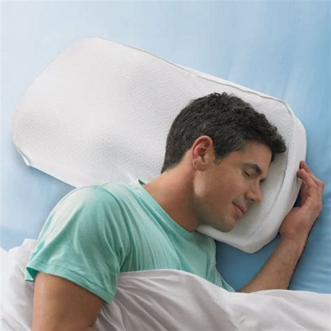 Brookstone Anti Snore Pillow by Snore Relief Pillows Brookstone Anti Snore Pillow