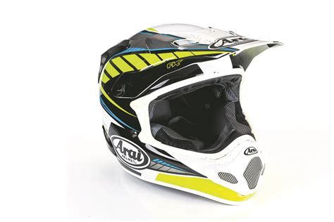 motocross helmet reviews product review arai mxv motocross helmet mcn