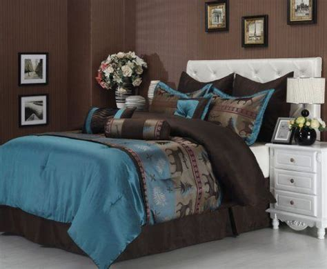 teal bedroom set 90 best teal and brown bedding images on pinterest