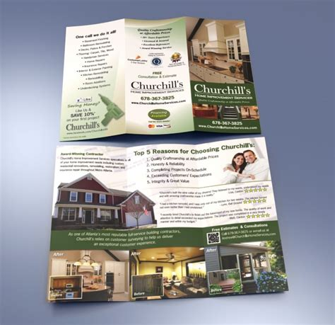 brochure design and printing by atlanta advertising agency