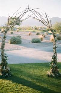 wedding arches made twigs twigs and greenery 53 wedding arches arbors and backdrops