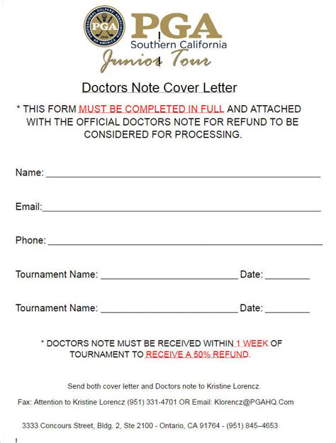 Cover Letter Notes by Doctor Cover Letter