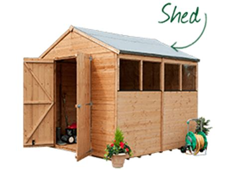 Buy Shed Uk by Buy Sheds Garden Buildings Storage Free Delivery