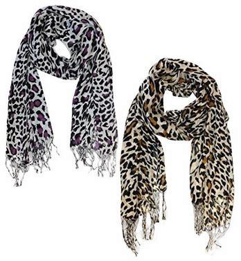 Pashmina Anima animal print pashmina scarves