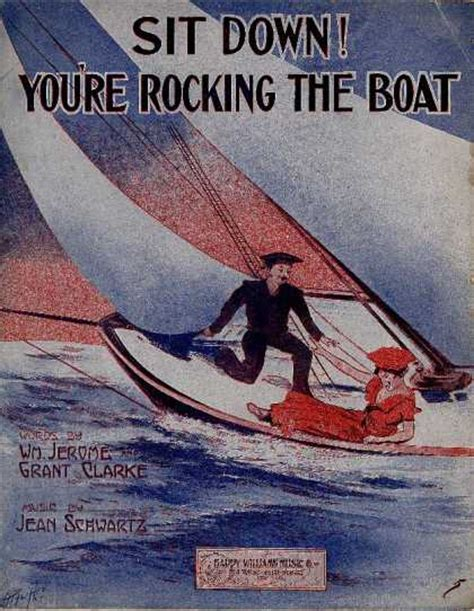 sit down you re rockin the boat lyrics sheet music covers 2350 2399
