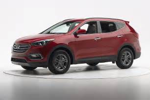 Hyundai Santa Fe Sports 2017 Hyundai Santa Fe Sport Earns Top Safety From