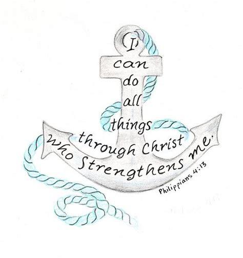 Anchor Print Inspirational Print Quot - inspirational art print nautical anchor bible verse