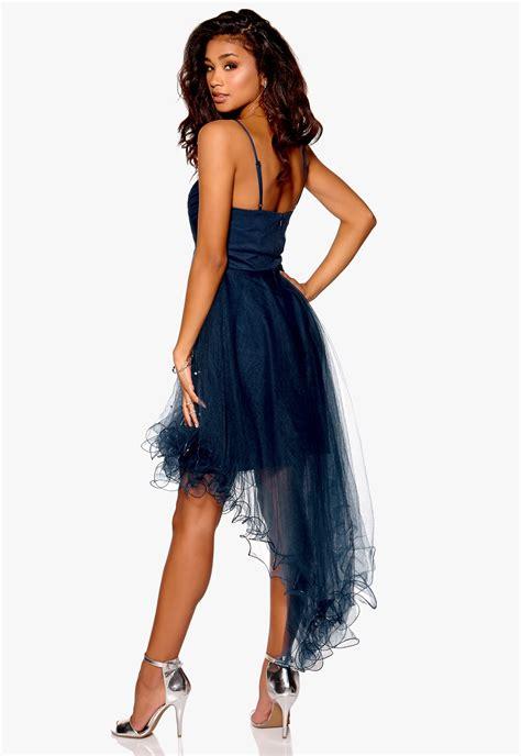 Dress Se model behaviour johanna dress midnight blue bubbleroom