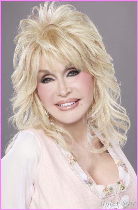 Dolly Parton Hairstyles by Dolly Parton Stylesstar