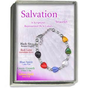 salvation bracelet color meanings beaded salvation bracelet 171 bracelets jewelry
