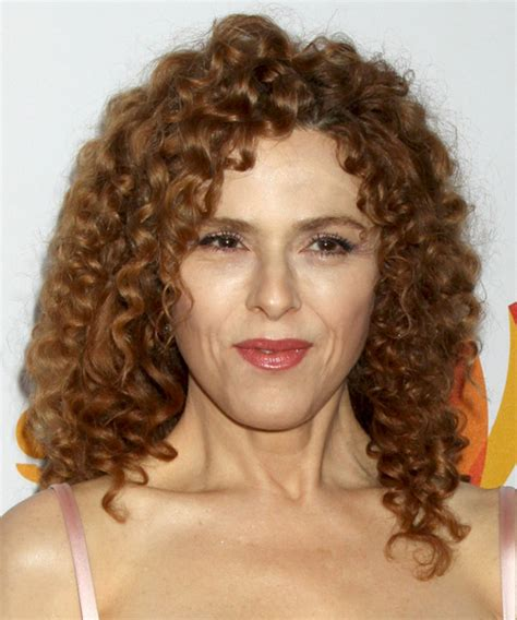 bernadette hairstyle how to bernadette peters medium curly casual hairstyle light