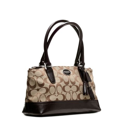 Natasia Ali Bronze Metallic Tote Bag by Lyst Coach Legacy Signature Mini Rory Bag In Brown