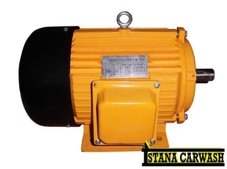 Mesin Cuci Mobilmotor Sp 550 E ikame dinamo elektromotor 5 5 hp 3 phase istana carwash