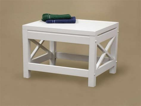 small bench for bathroom white bathroom bench interior small bathroom bench
