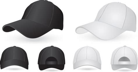 Cap Free Vector Download 308 Free Vector For Commercial Use Format Ai Eps Cdr Svg Vector Hat Template Illustrator