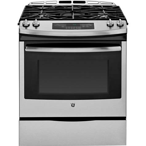 stainless steel appliances stainless steel stove ge appliances jgs650sefss 30 quot slide in gas range