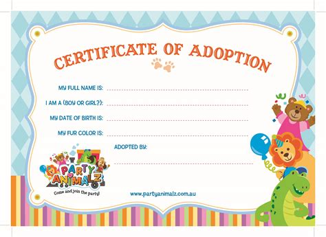 beautiful pics of build a bear birth certificate