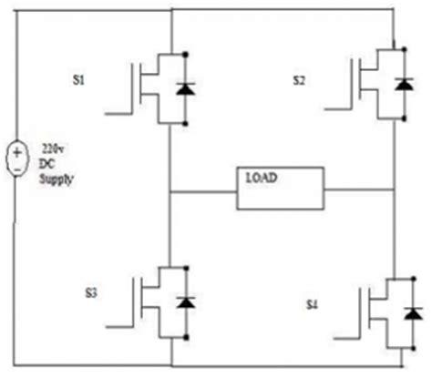 single phase pwm inverter circuit diagram single pwm inverters electronics tutorial