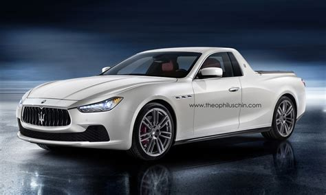 maserati pickup truck maserati ghibli pickup is as bad as you d expect gtspirit