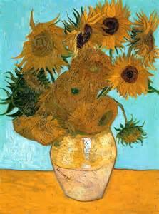 mc school gogh sunflowers