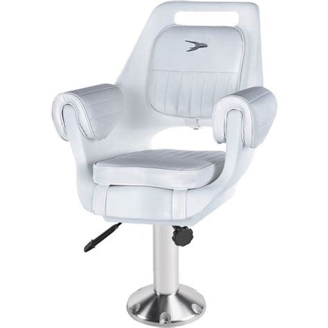 boat seats pedestal combo wise company deluxe pilot chair and 15 in pedestal combo
