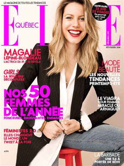 Magazine For Home Decor elle quebec feb 2014 cover cynthia judyink magazine