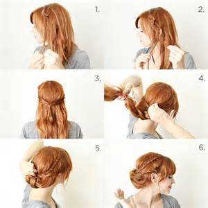 braids updo for hairstep by step 18 easy step by step tutorials for perfect hairstyles
