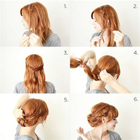 easy updo hairstyle tutorial for 18 easy step by step tutorials for hairstyles