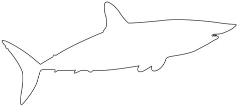 Mako Templating by Mako Shark Silhouette Free Vector Silhouettes