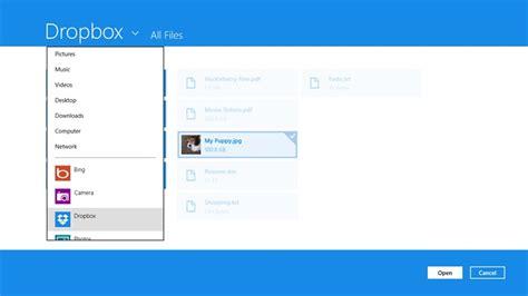 dropbox desktop app dropbox s windows 8 app has finally arrived
