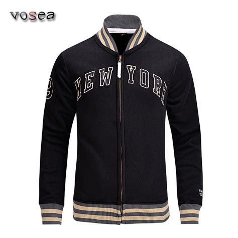 new fashion new york baseball jacket sleeve stand