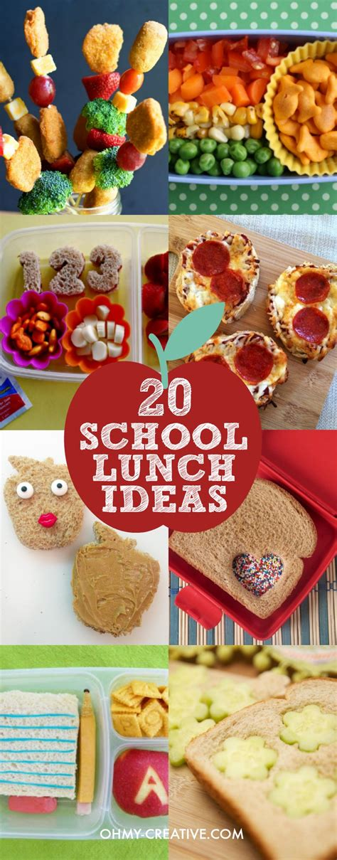 a bunch for lunch meals for 20 or more in the corporate kitchen volume 1 books 20 creative school lunch ideas for oh my creative