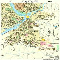 oregon city oregon map 4155200