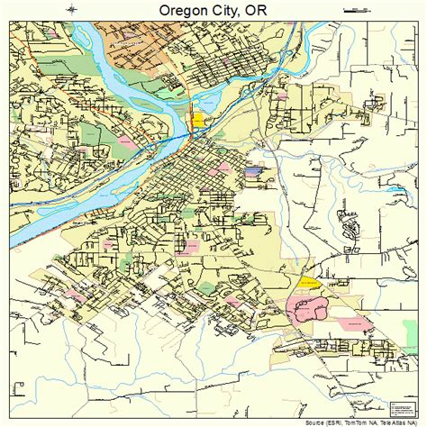 map of oregon oregon oregon city or pictures posters news and on