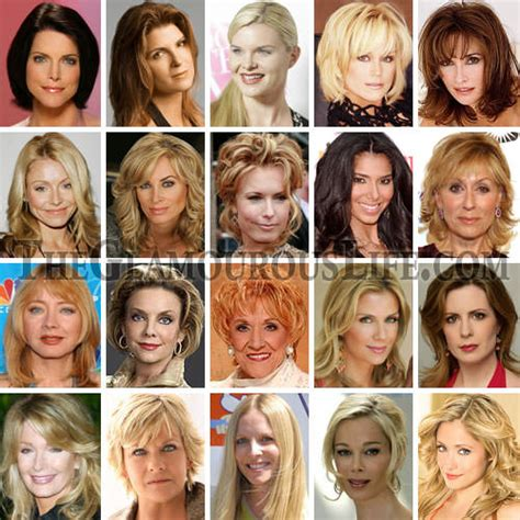 soap stars hairstyles hairstyles of soap opera actresses