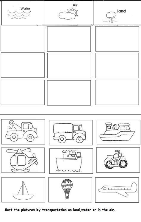 kindergarten activities on transportation crafts actvities and worksheets for preschool toddler and
